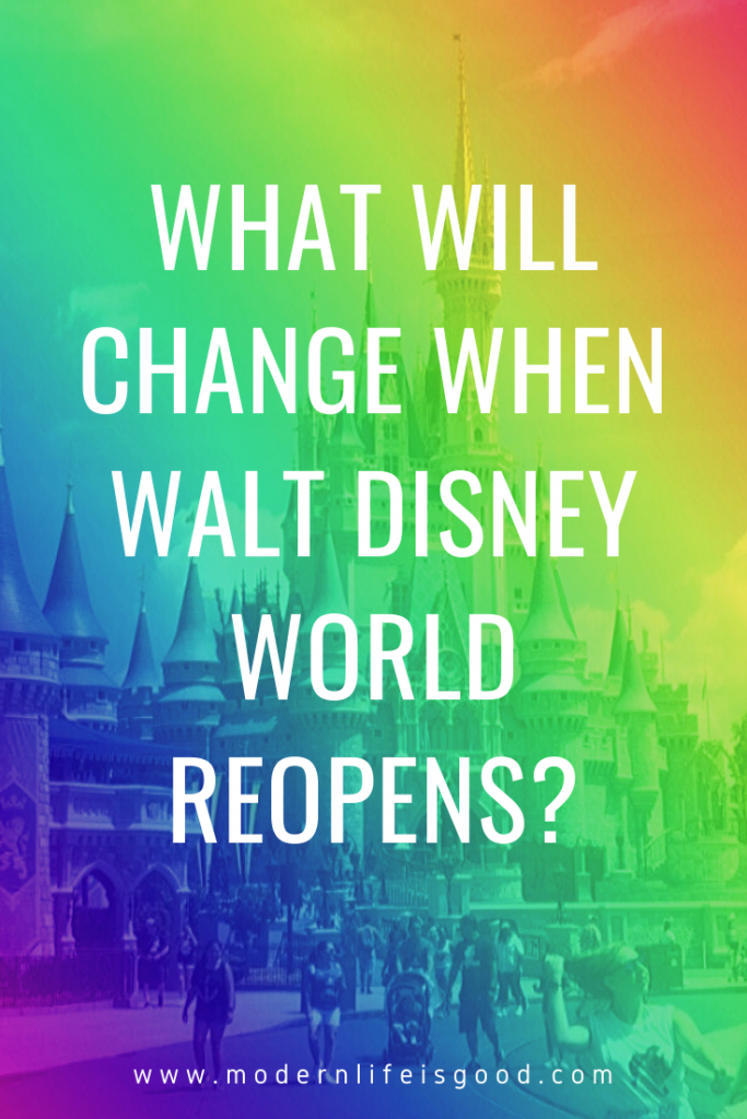 we are starting to get a little information on what changes might be in store when guests begin to return. Here are some of our predictions of what will Walt Disney World be like when it reopens.