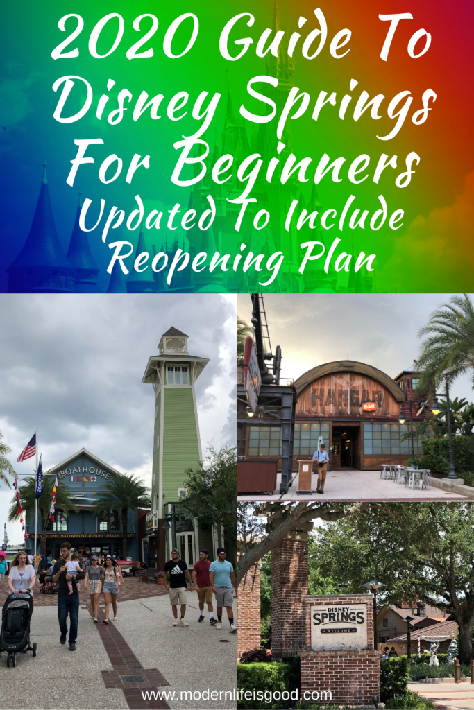 Our 2020 Guide to Disney Springs provides all the essential information to plan your day including all the latest information on Disney Springs reopening