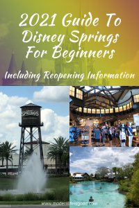 Our 2021 Guide to Disney Springs provides all the essential information to plan your day visiting the Walt Disney World shopping, entertainment, and dining paradise.
