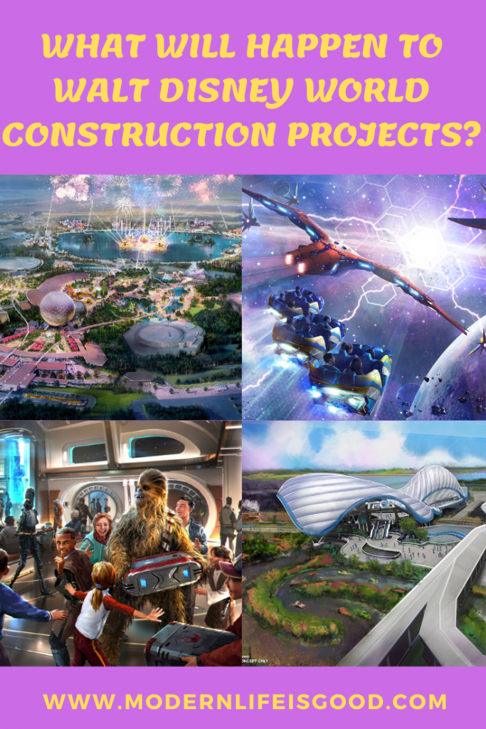 What will happen to Walt Disney World Construction projects?