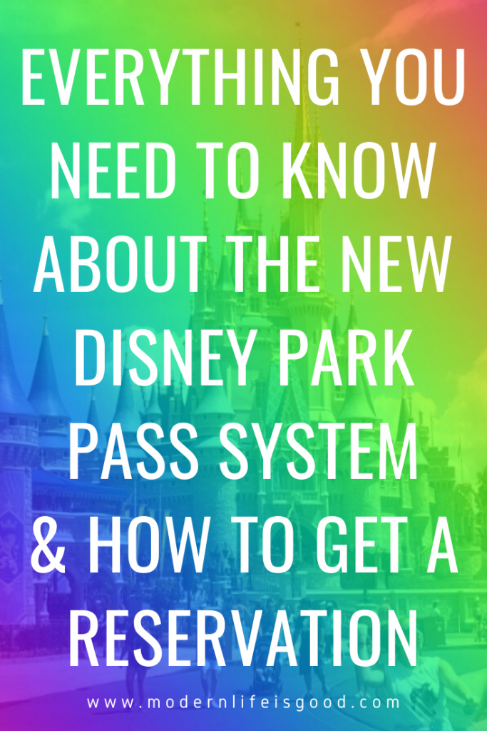 One of the most significant changes during reopening will be t the new Disney Park Pass System which reserves your place in Disney World Parks