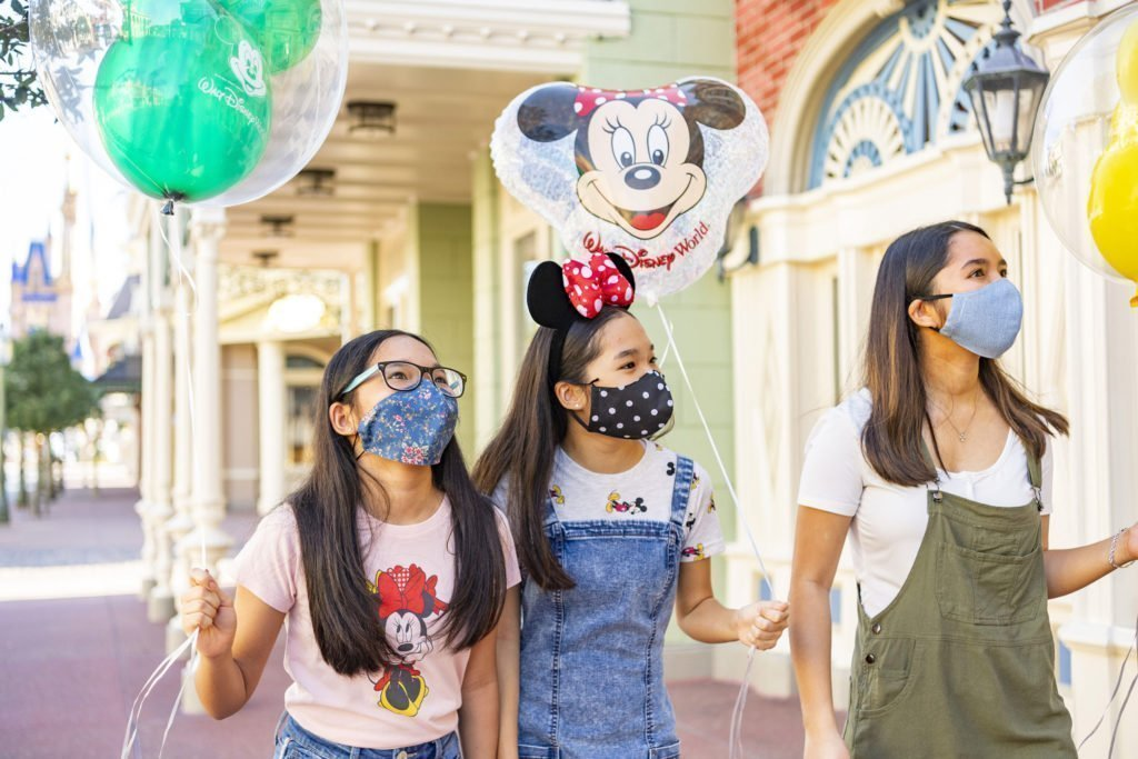 Face Coverings are compulsory at Walt Disney World