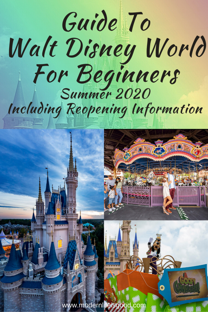 Our Reopening Guide to Walt Disney World for Beginners is the ultimate guide to planning your Walt Disney World vacation for Summer 2020 and beyond.