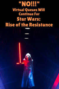 Reopening of Star Wars: Rise of the Resistance Update