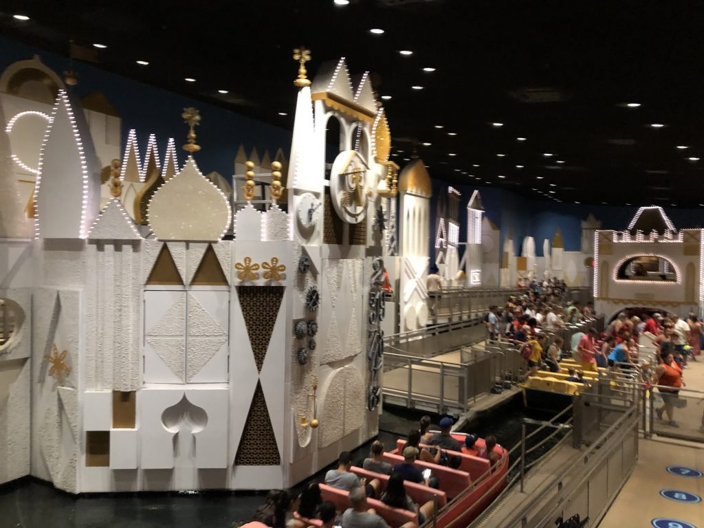 Is It's a Small World is moving to Epcot?
