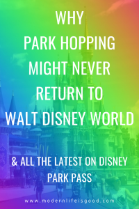 The Disney Park Pass Reservation system has been extended until the end of 2021. The last date you can now book a Disney Park Pass is for January 14, 2022. Previously the latest bookable date was September 26, 2021, which was 1 week before the Walt Disney World's 50th anniversary. Of course, Disney could always cancel the reservation system early, but does the continuation of Disney Park Pass mean the long-term end of Park Hopping?