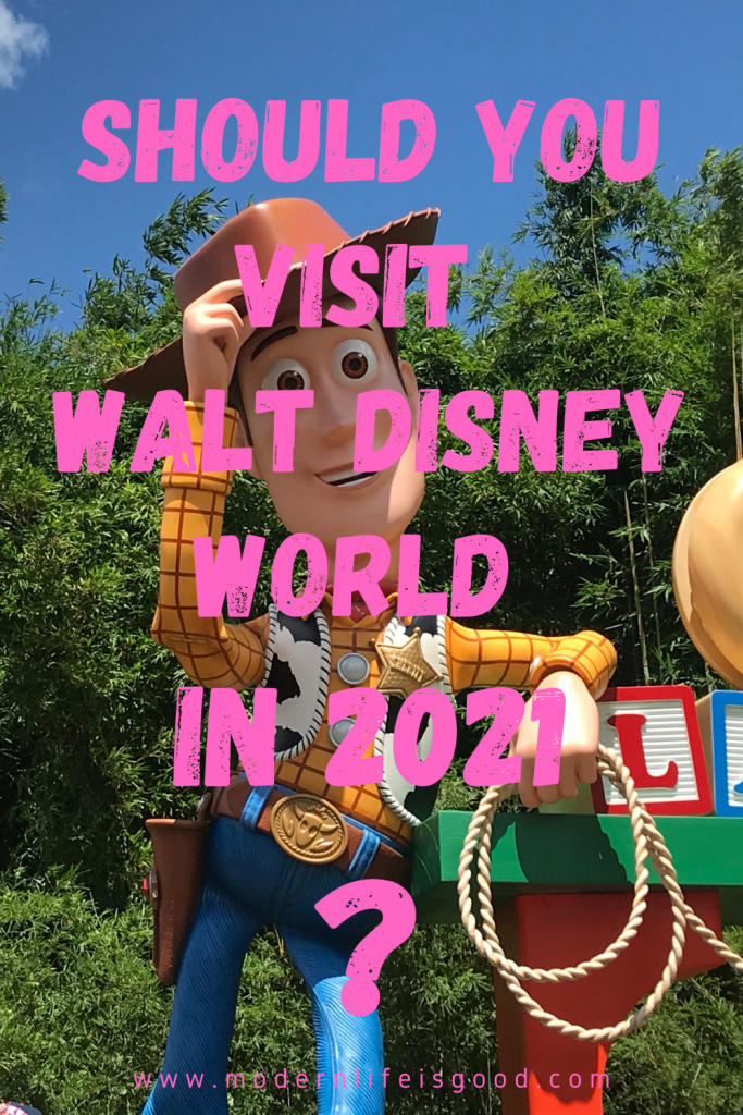 Should you visit Walt Disney World in 2021, or should you wait? Here are our reasons for and our reasons against a Disney Vacation in 2021.