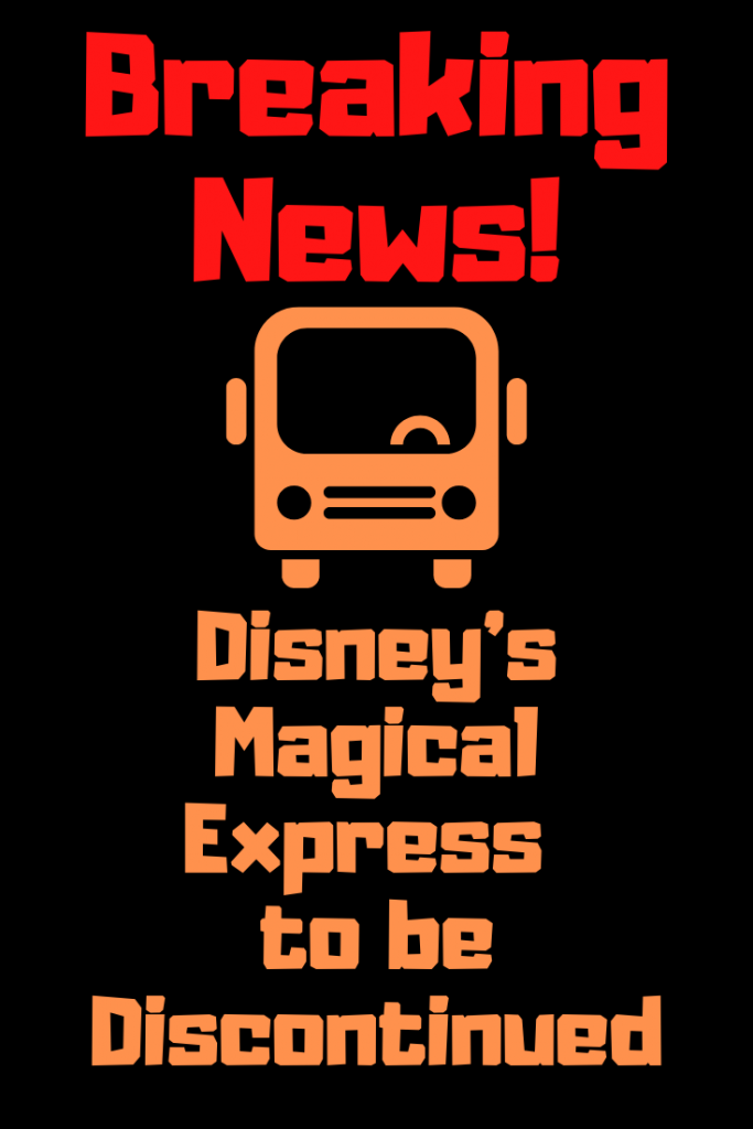 Disney's Magical Express is to end in 2022. Currently, all guests staying at Walt Disney World benefit from complimentary transportation from Orlando International through Disney's Magical Express. This will be interpreted as another sign of a reduction in perks for guests staying at Disney Resorts; 2021 will be the last year of the Magical Express.