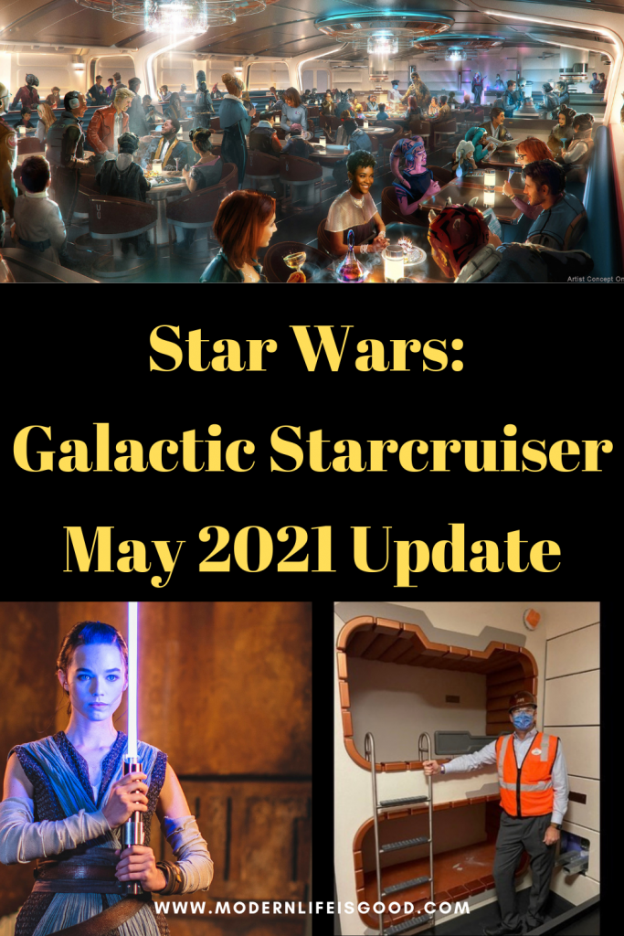 It has been confirmed! Star Wars: Galactic Starcruiser will open in 2022. In addition, there has been a number of other updates over the last few days.