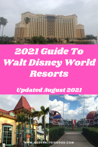 Our 2021 Reopening Guide to Walt Disney World Resorts has all the information you need to plan your Disney Resort Vacation.