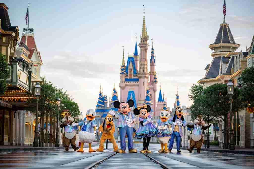Walt Disney World's 50th birthday celebrations