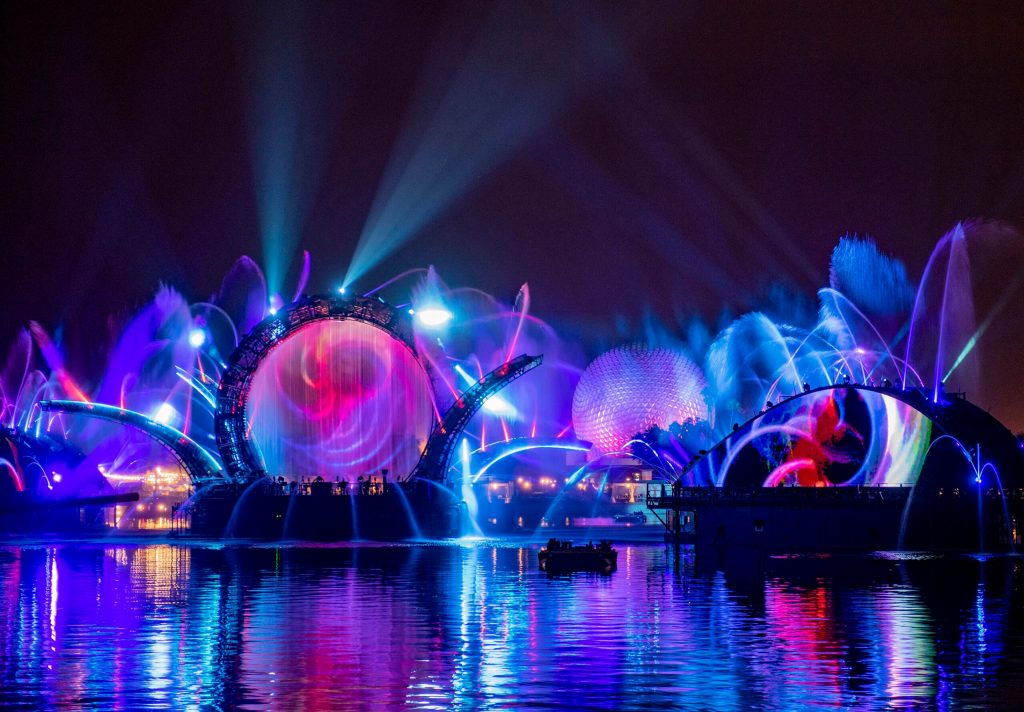 """A new nighttime showed called """"Harmonious"""" will debut Oct. 1, 2021, at EPCOT"""