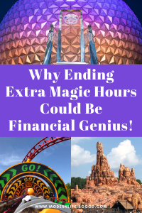 "Walt Disney World lost billions of dollars in 2020. When Walt Disney World needs to be encouraging guests to visit the resort, it might seem that ending Extra Magic Hours could be considered an ""own goal."" However, we think it might be a genius idea that will significantly contribute to Walt Disney World's financial recovery."