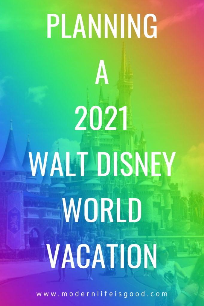 The world is a changed place, and planning a 2021 Walt Disney World Vacation is very different from previous years. Here are our top planning tips if you are planning to visit Walt Disney World in 2021.