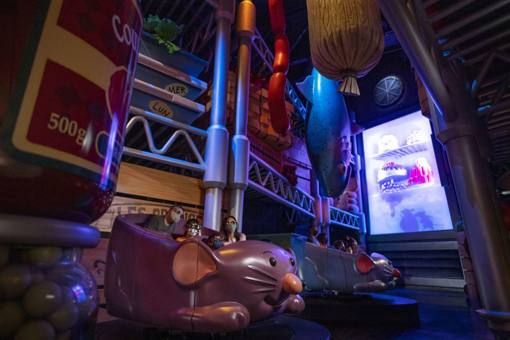 Remy's Ratatouille Adventure at EPCOT to Open October 1