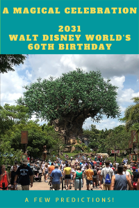 Walt Disney World is due to celebrate its 60th birthday in 2031. Disney is pulling out all the stops for its Diamond Anniversary.