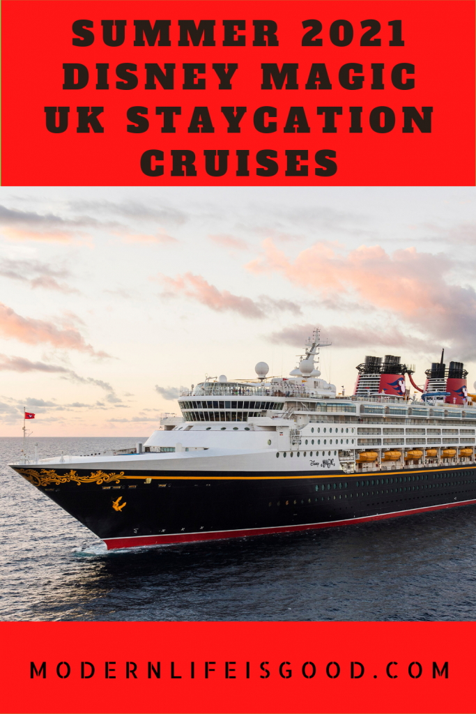 With increasing optimism of a more stable summer in the United Kingdom, Disney Cruises has launched a summer season of Staycation Cruises onboard the Disney Magic. Unlike the recently announced P&O Cruises summer cruises, Disney Cruises will be catering to families.