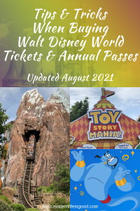 Buying a ticket for Walt Disney World is not simple. There are numerous options that offer different benefits, plus they can significantly differ in price. Our Guide to Walt Disney World Tickets provides you with all the essential information and tips to get the best value for your money. We have updated our guide with all the latest information in August 2021, including the latest details on the new annual passes. However, you should note that things are subject to change during Walt Disney World's reopening period.