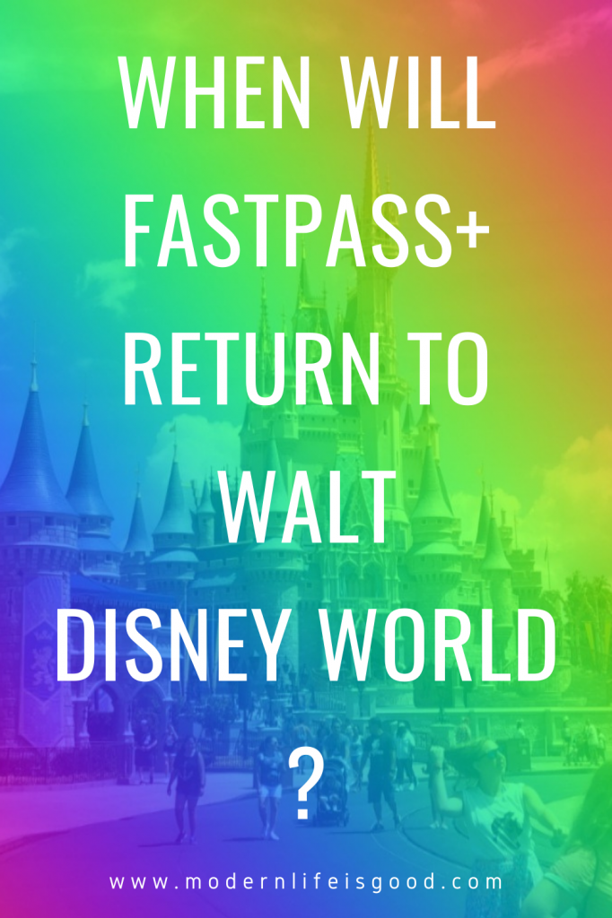 "One of the most common queries we receive at ModernLifeisGood is when FastPass+ and the Disney Dining Plan return to Walt Disney World. Unfortunately, the answer to both questions is we don't know. We suspect the Disney Dining Plan may return this summer, but for FastPass+, the situation appears more complex. Perhaps, the question should even be, ""Will FastPass+ return to Walt Disney World?"" In this post, we look at why FastPass+ might not return to Walt Disney World."