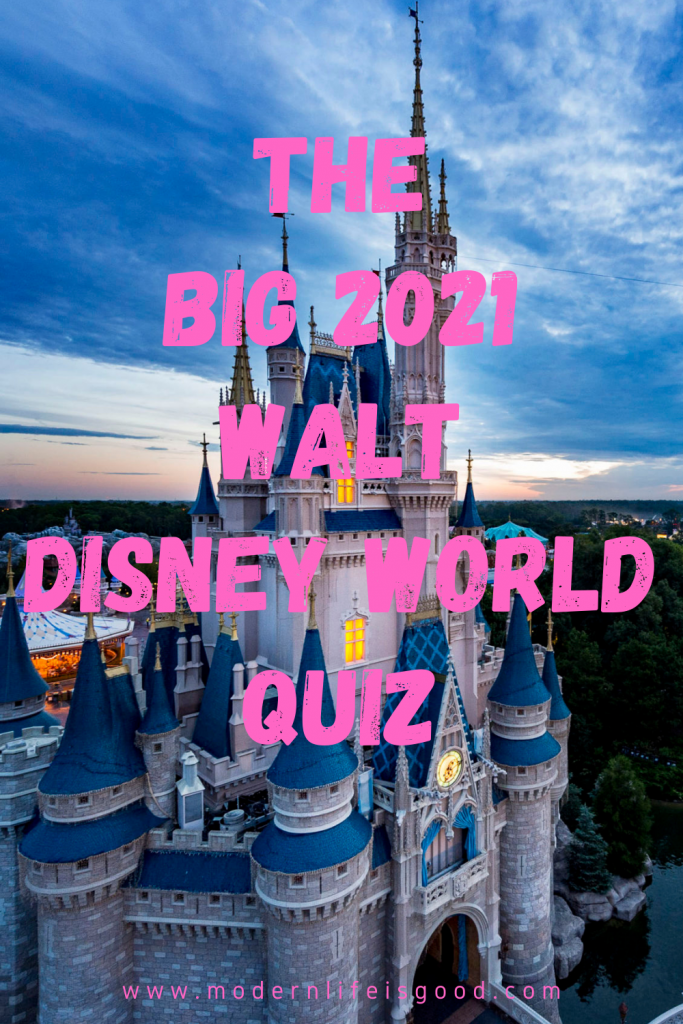 Time for our second Walt Disney World Annual Quiz released yet again over Easter Weekend. I think this year's questions are quite tricky, but it will inevitably be a breeze for the biggest WDW Fans. You will find the answers at the bottom of the post. There are 20 questions in The Big Walt Disney World 2021 Quiz; how many do you think you will get right?