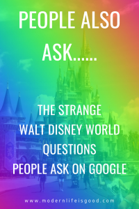 If you search on Google, you will often be presented with a list of the questions people also ask. Sometimes the list is sensible, but sometimes the questions are pretty absurd. Click on any question, and you will be shown a snippet answer, plus a link to the website where the information came from. Google will also provide you with a couple more related questions. Click on a few questions, and the list of questions gets even more absurd. For a bit of fun, we tested it on Walt Disney World.