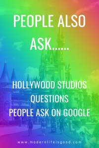"""A couple of weeks back, we did a different type of post, """"the strange Walt Disney World questions asked on Google."""" The post was a little bit of fun, and we thought we would have another go. This time we are going to look at the Hollywood Studios questions asked on Google."""