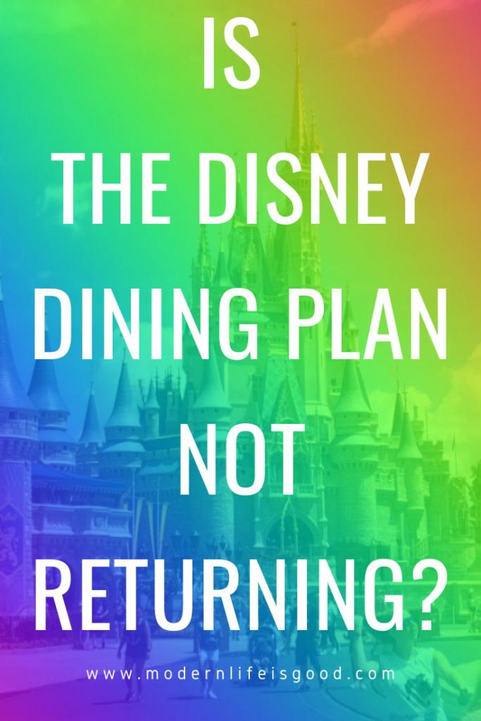 We possibly have a glimpse into the future, and it seems the Disney Dining Plan might not be returning to Walt Disney World! Although there has been no official announcement, the United Kingdom is currently running its annual free dining promotion.
