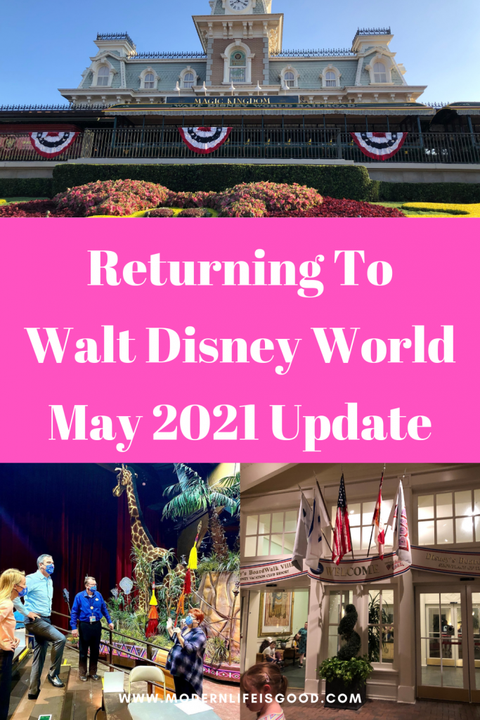 The reopening of Walt Disney World continues, and there have been a few announcements surrounding the reopening of several attractions. However, there is still no news on the return of the Disney Dining Plan, FastPass+, Parades, or Fireworks. Here is our May Update on everything returning to Walt Disney World.