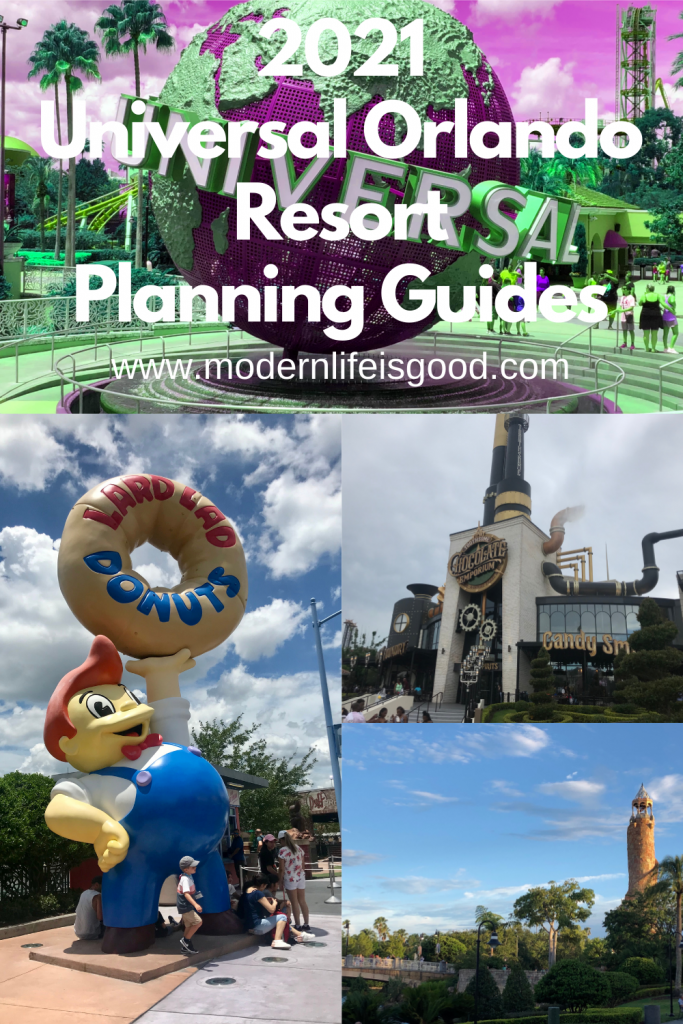 We have had a section on Modern Life is Good covering all Guides to Walt Disney World for several years. However, we have never created, until now, a Universal Orlando Planning Tips and Tricks section. We have created a selection of helpful guides which will help you plan a fantastic Universal Orlando Vacation, and you will find a link to all the guides on this post.