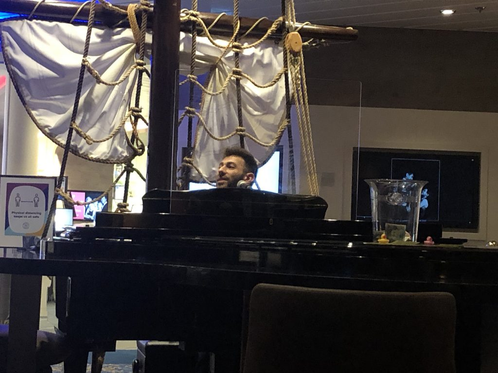 Anthem of the Seas Day 2 - What is Suspended and Available?