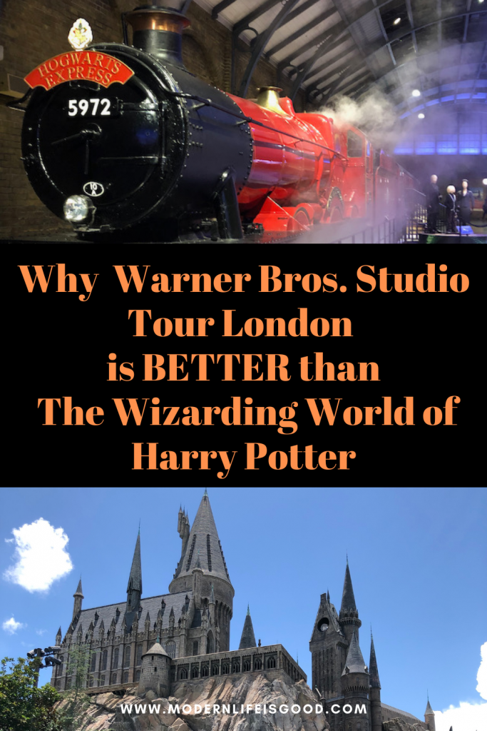 Next up on our Staycation 2021, we are off to Warner Bros. Studio Tour London - The Making of Harry Potter. This week, if it wasn't for international travel restrictions, we should be in Universal Orlando Resort, which includes the fabulous The Wizarding World of Harry Potter. However, Warner Bros. Studio Tour London - The Making of Harry Potter is, in my opinion, better!