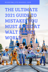 In 2021, your previous Walt Disney World strategies are worthless! Since Walt Disney World reopened, your approach to have a great time has completely changed. Our previous blog post on Walt Disney World Mistakes You Must Avoid has been one of our most visited posts on Modern Life is Good. However, many of these tips are out of date, and we have now decided to remove this post. These are our all-new Walt Disney World Mistakes to Avoid in 2021. Follow these tips, and you will have a great time at Walt Disney World in 2021.